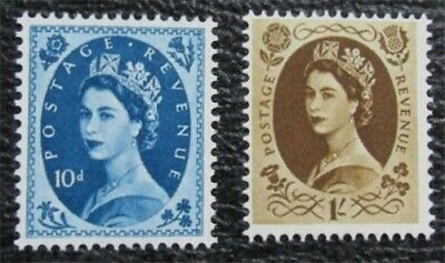 nystamps Great Britain Stamp # 329, 331 Mint OG NH $40   L16x1780