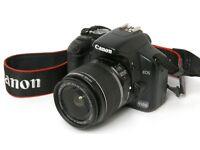 Canon EOS 450D SLR incl Kit Lens (18-55mm)