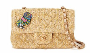 Chanel Shoulder Bag Purse Coco Owl Charm JAPAN GINZA NAMIKI