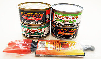 (Grilling Smoke in a Can Flavorwood BBQ Grill Smoke (4 Pack) Assortment Cameron )