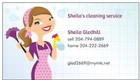 sheila's cleaning service