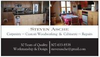 Repairs, Carpentry, Woodworking, Installations, Handyman