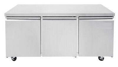 Universal Tuc72r 72 Undercounter Refrigerator Three Solid Door