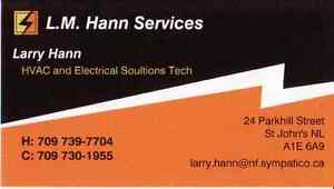L.M Hann Services (HVAC and Electrical solutions Tech) St. John's Newfoundland image 1