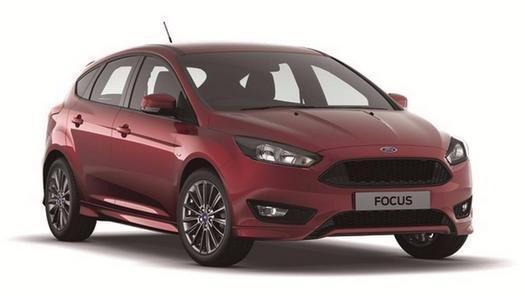 2017 Ford Focus 1.0 EcoBoost 125 ST-Line Navigation 5 door Petrol Hatchback