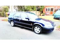 HONDA CIVIC ESTATE 1.6 i AUTO . LONG MOT ,SERVICE HISTORY ,GREAT CONDITION FOR YEAR ALLOY WHEELS