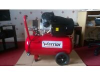 Warrior 50 Litre Air Compressor.