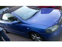 Well maintained Astra Convertible