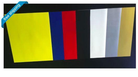 Heat Transfer Vinyl,  7-Color Starter BUNDLE for Silhouette Cameo, Cricut