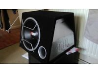 Top End MONO BLOOK amplifier & Sub in the box
