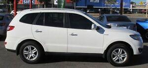2010 Hyundai Santa Fe CM MY10 Elite White 6 Speed Sports Automatic Wagon Bellevue Swan Area Preview
