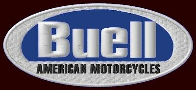 """BUELL MOTORCYCLES EMBROIDERED PATCH ~5-3/8""""x 2-3/8"""" S1 LIGHTNING S3 THUNDERBOLT"""