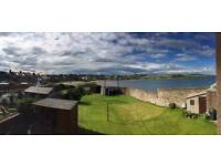 Harbour view, 2 Bedroom, first floor flat with private garden in Old Town, Stonehaven