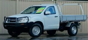 2015 Isuzu D-MAX TF MY15 SX (4x4) White 5 Speed Manual Cab Chassis Lismore Lismore Area Preview
