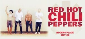 Red Hot Chili Peppers Lower Bowl 107 Below Face