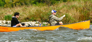 1 yr old 16 ft, Canoe with lower price London Ontario image 5