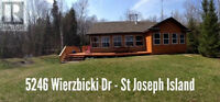 Waterfront property on St.Joseph Island FOR SALE