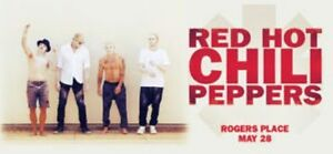 Red Hot Chili Peppers 201 Row 4 Below Face