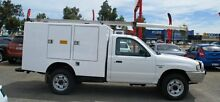 2005 Mazda Bravo B2500 DX White 5 Speed Manual Cab Chassis Bellevue Swan Area Preview