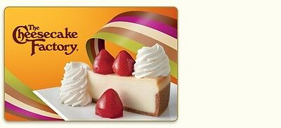 The Cheesecake Factory Gift Card  55 00