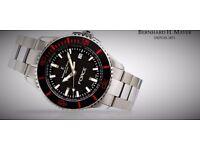 new original Swiss wrist watch Bernhard H Mayer with warranty