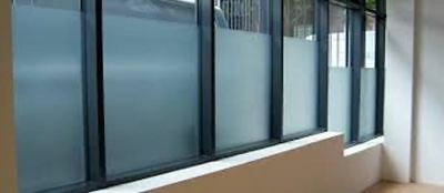 "48"" X 85 FT ROLL WHITE FROST FILM PRIVACY FOROFFICE,BATH,GLASS DOORS,STOREFRONT"