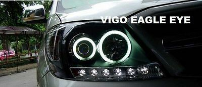 FOR TOYOTA HILUX VIGO MK6 SR5 05-11 FRONT HEADLIGHT PROJECTOR LAMP WITH LED BAR