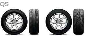 Winter Tires- Micheline Ice X Tires- Audi Q5