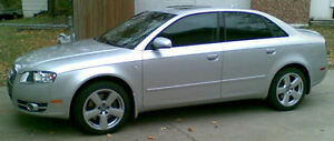2006 Audi A4 Quattro 2.0T , 6 speed MT , Certified and E-tested