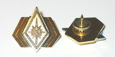 Battlestar Galactica Rear Admiral Uniform Rank Pips/Pin Set of 2 (BGPI-21)