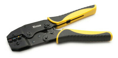 Titan 11477 Ratcheting Wire Terminal Crimper