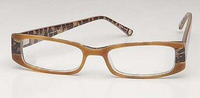 JOHN LENNON Eyeglasses LIFESTYLES 1026  BROWN MARBLE NEW!