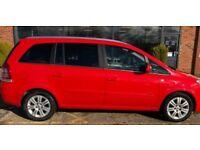 2010 Vauxhall Zafira 1.7 Diesel,7 Seater,2 Keys,Full Service History,