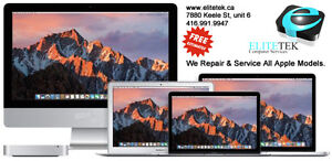 We Repair and Service All Macbook and PC Notebooks! FREE EST