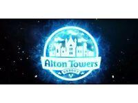 Alton Towers Tickets - £18 each - Most Dates Available - All School Holidays and Weekends Available