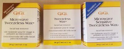 GIGI Microwave Sensitive Tweezeless Wax Facial Hair Remover  --  FREE SHIPPING! ()