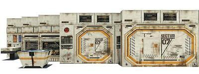 In STOCK Sector 07 Docking Bay Pop-Up DIorama Display 1/12 Scale Action Figures