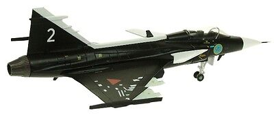 AVIATION72 AV7243004 1/72 SAAB GRIPEN SWEDISH AIR FORCE MUSEUM BLACK WITH STAND