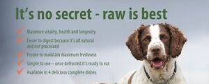 NATURAWLS and CANADA RAW: Frozen Raw Food for Sale!!