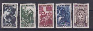 Saarland Mi. Nr. 267-71 Volkshilfe Prachtsatz Postfrisch ** MNH - Graz, Österreich - Rücknahmen akzeptiert - Graz, Österreich