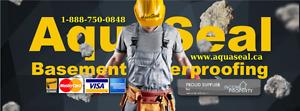 Wet Leaky Basement |1-888-750-084| Epoxy Foundation Crack Repair
