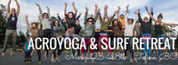 OMTOWN YOGA presents AcroYoga and Surf Retreat