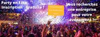 Ajoutes Ton Entreprise Sur PARTYENFETE.com Pour être Plus Visibl