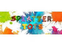 Hilton Splatter Tots Messy Play - Friday 9th September