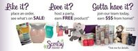 I'm having a Scentsy party!