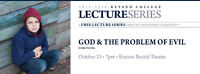 Free Lecture: God & The Problem of Evil