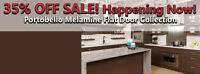 Last Day For Our Massive Cabinetry SALE! Save 35%!!