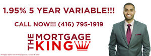 1.95%- Call The Mortgage King! - Harpreet Singh - (416) 795-1919
