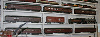 Vintage G scale Aristocraft Canadian Pacific 7 car passenger set