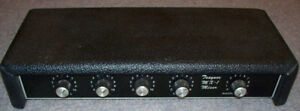Traynor YMX-1 four channel mixer